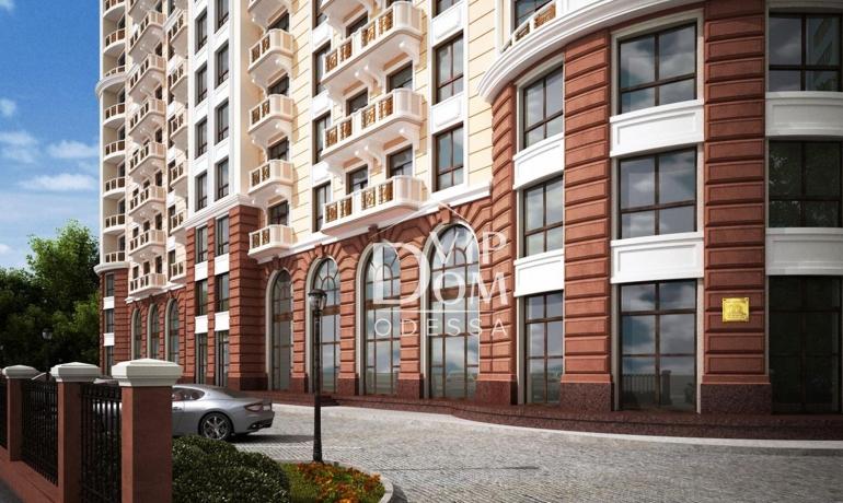 Квартира в доме Каркашадзе
