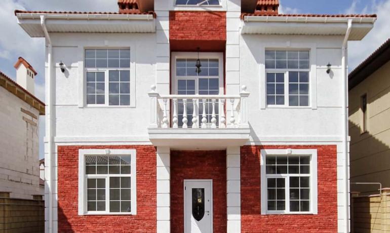 Sovinyon House. Двухэтажный дом.