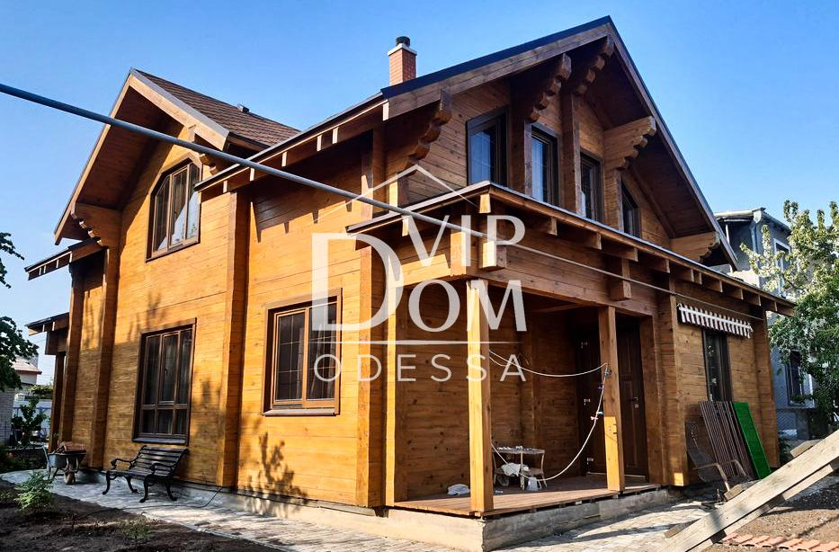 Экологически чистый дом в Одессе на Чубаевке.