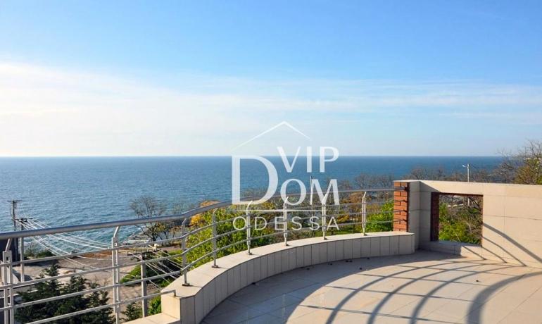 Дом с панорамным видом на море в Аркадии