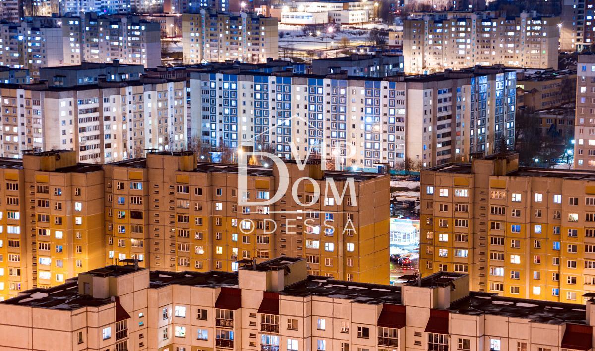 Двухкомнатная квартира в Одессе на посёлке Котовского.